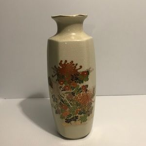JAPANESE SHATTERED GLASS VASE